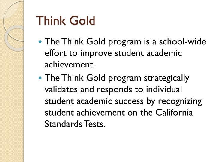 Think Gold