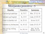 mesijanska proro tva 5