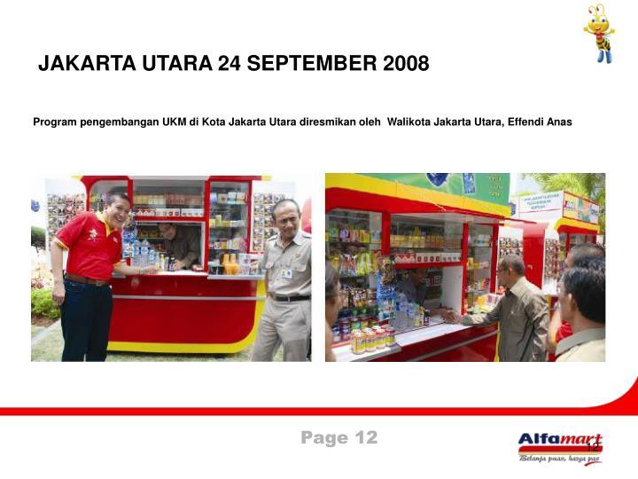 JAKARTA UTARA 24 SEPTEMBER 2008