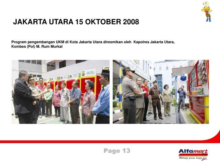 JAKARTA UTARA 15 OKTOBER 2008