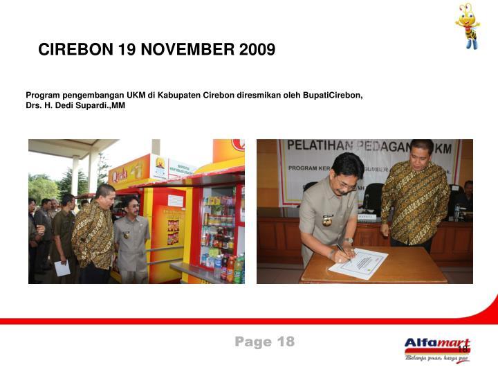 CIREBON 19 NOVEMBER 2009