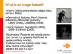what is an image feature