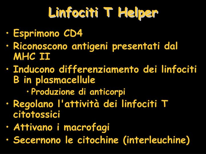 Linfociti T Helper