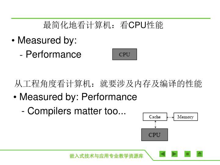 从工程角度看计算机:就要涉及内存及编译的性能