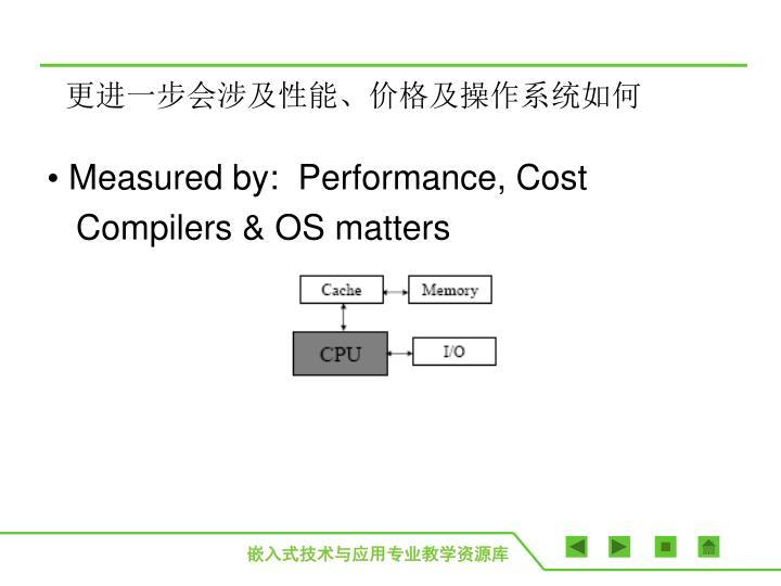 更进一步会涉及性能、价格及操作系统如何