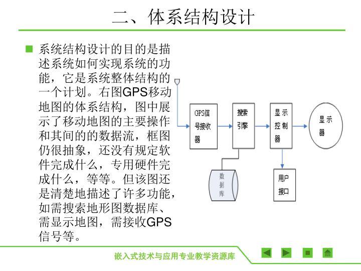 二、体系结构设计