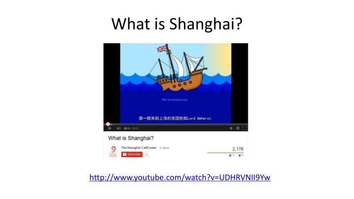What is Shanghai?