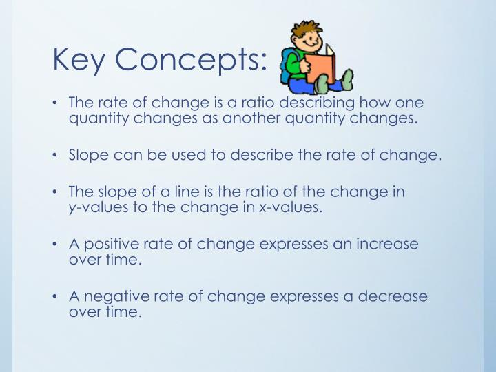 Key Concepts: