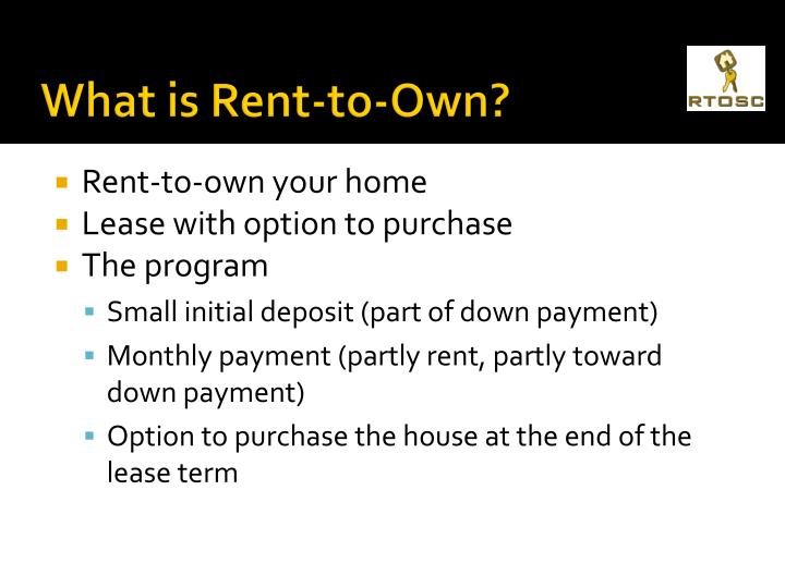 What is Rent-to-Own?