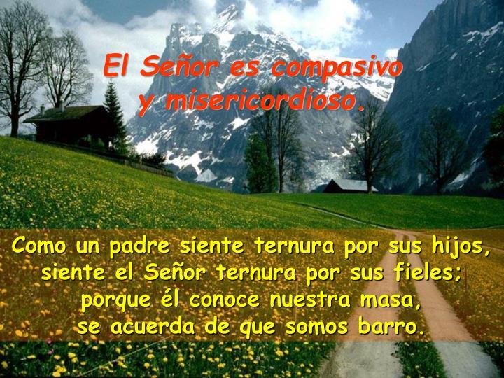 El Señor es compasivo