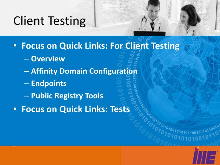 Client Testing