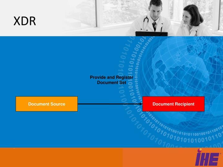 Provide and Register Document Set