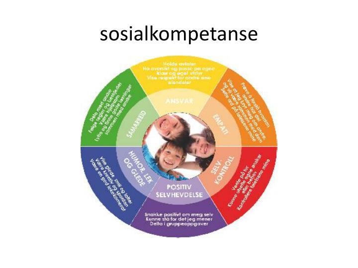 sosialkompetanse