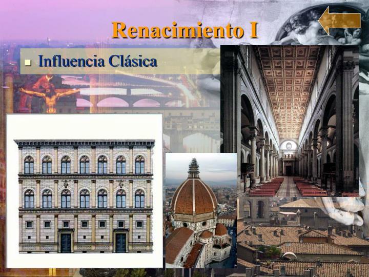 Renacimiento I