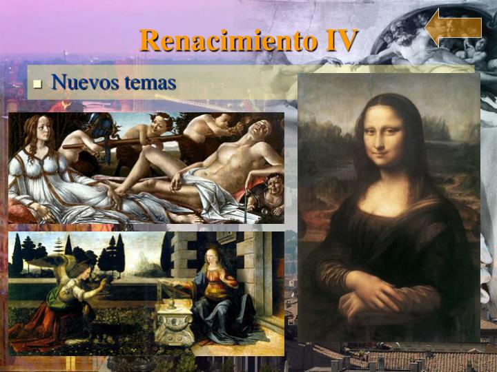 Renacimiento IV