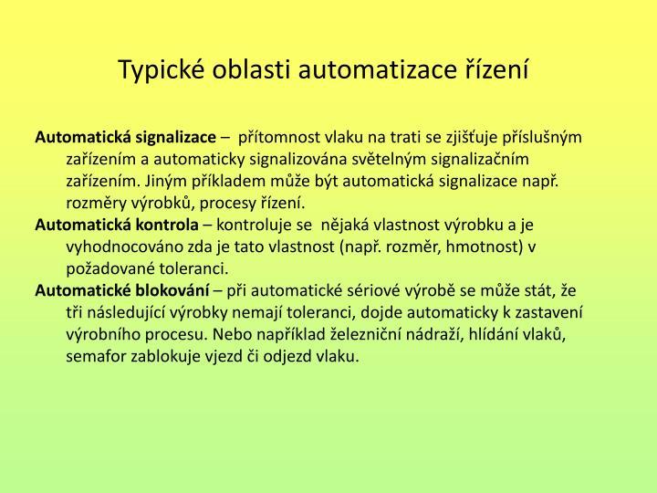 Automatická signalizace