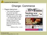 change commerce