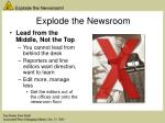 explode the newsroom6