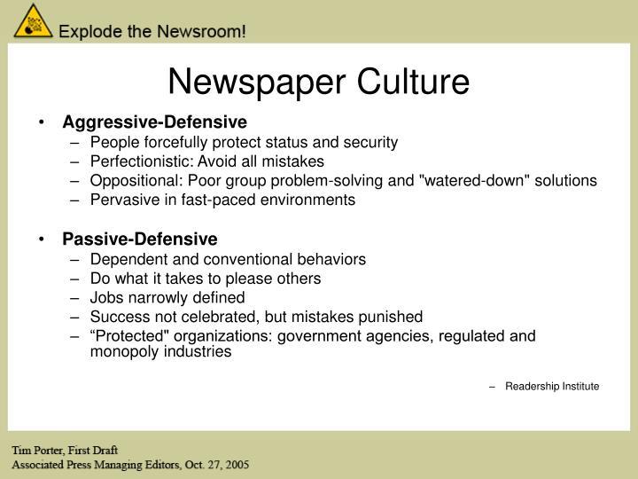 Newspaper Culture