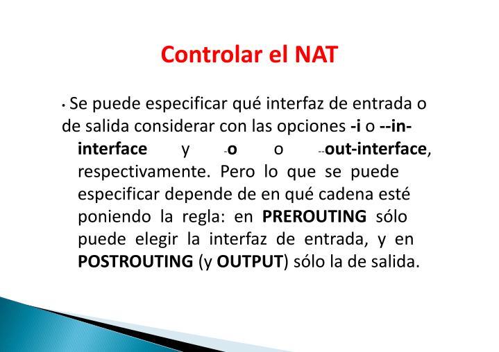 ControlarelNAT