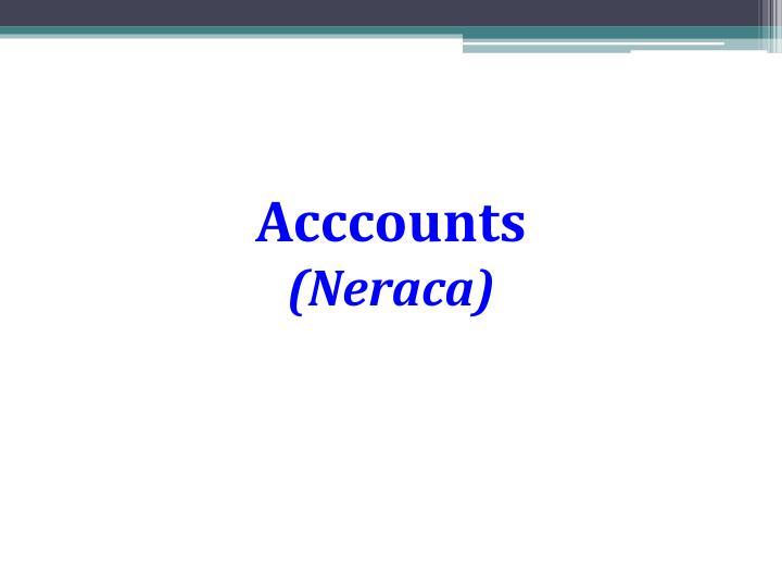 Acccounts