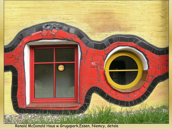 Ronald McDonald Haus w Grugapark,Essen, Niemcy