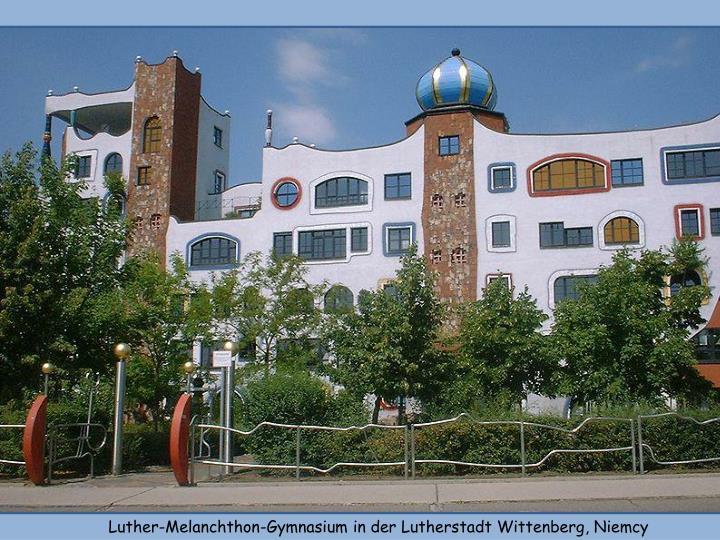 Luther-Melanchthon-Gymnasium in der Lutherstadt Wittenberg