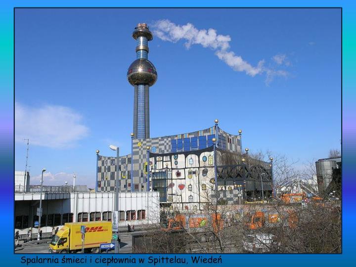 Spalarnia śmieci i ciepłownia w Spittelau, Wiedeń
