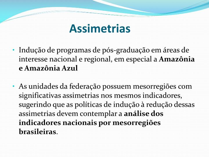 Assimetrias