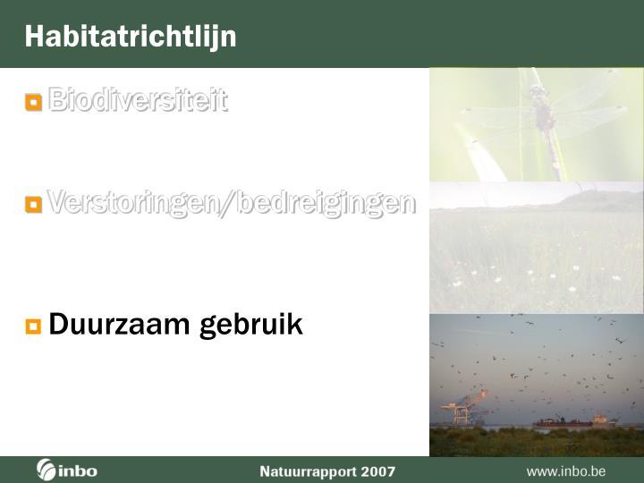 Habitatrichtlijn
