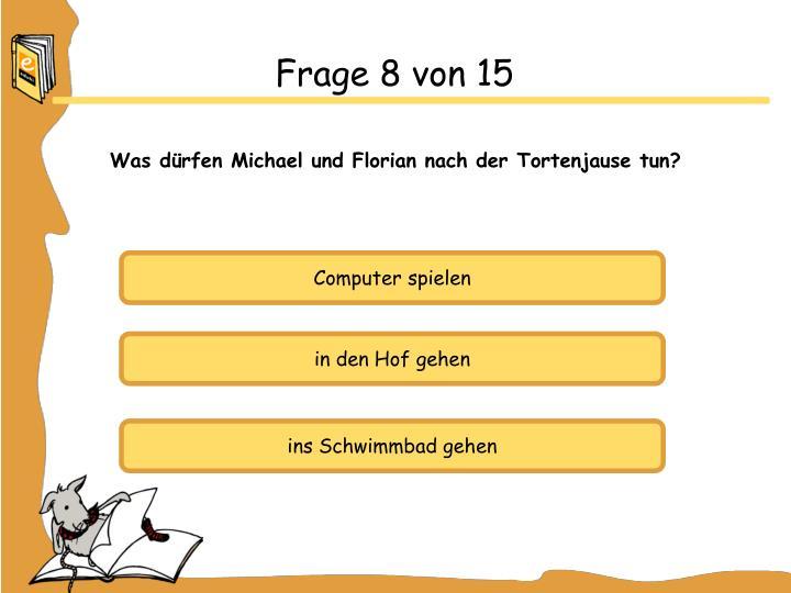 Frage 8 von 15