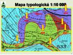 mapa typologick 1 10 000