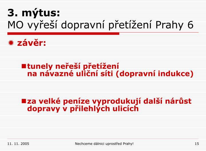 3. mýtus: