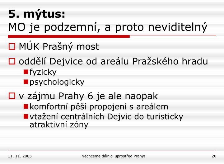 5. mýtus: