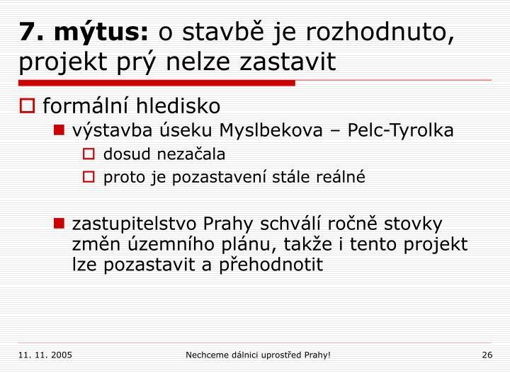 7. mýtus: