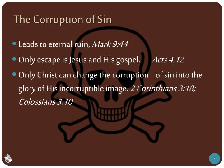 The Corruption of Sin
