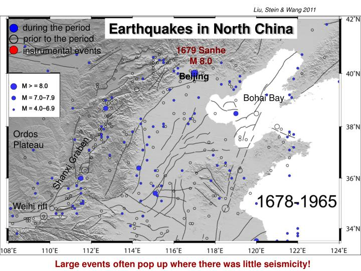 Earthquakes in North China