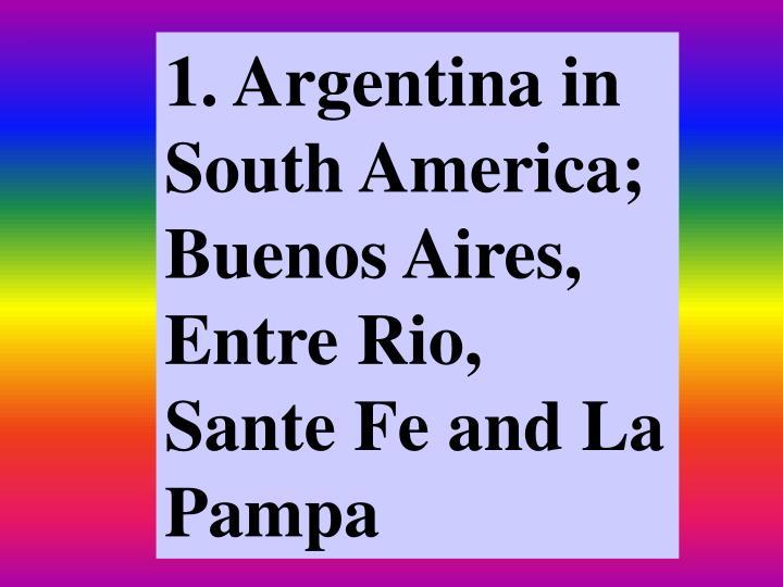 1. Argentina in