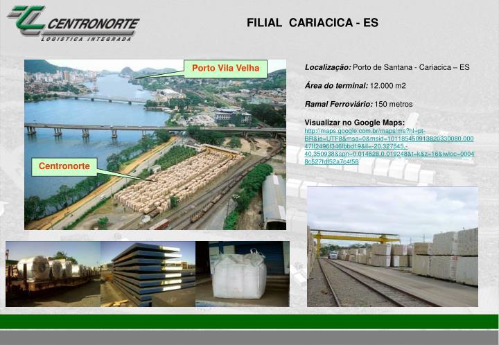 FILIAL  CARIACICA - ES