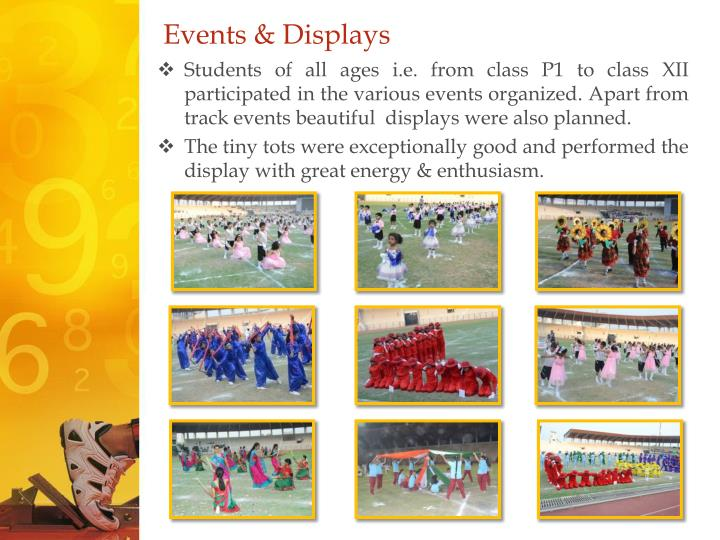 Events & Displays