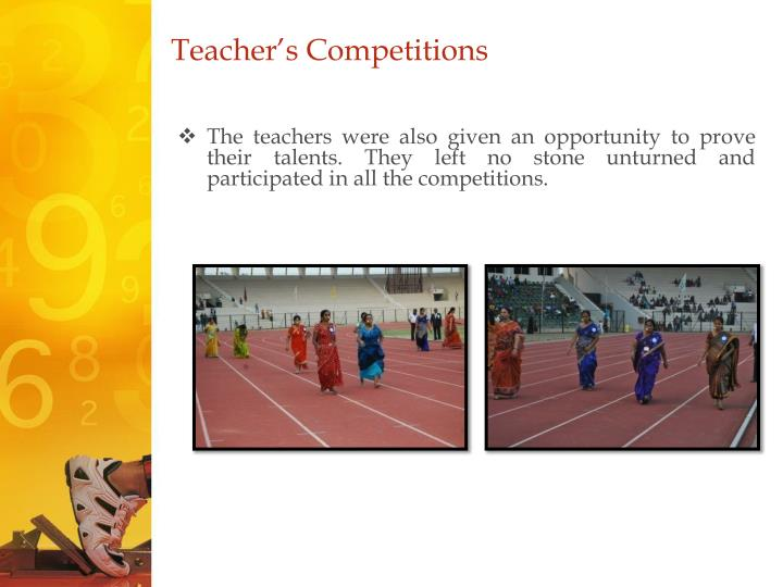 Teacher's Competitions
