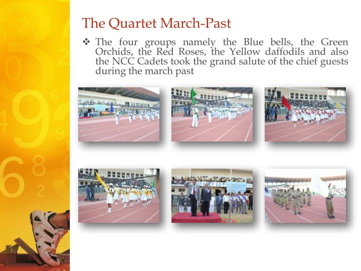 The Quartet March-Past