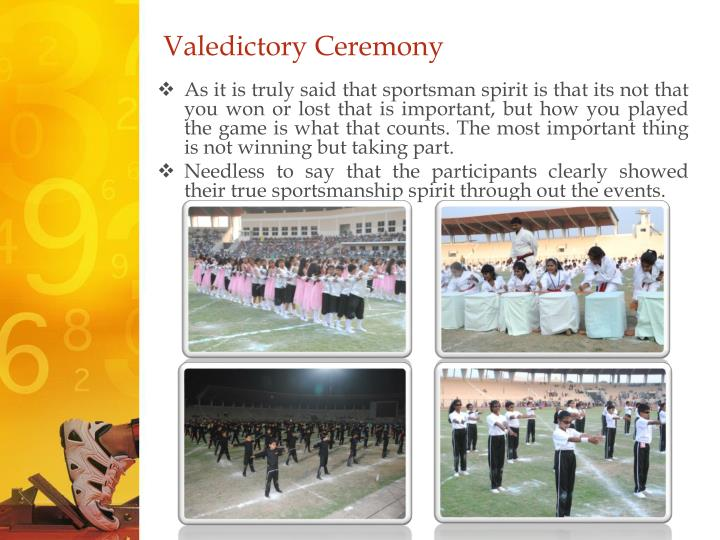 Valedictory Ceremony