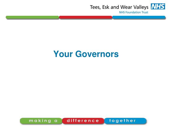 Your Governors