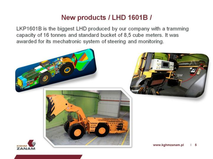 New products / LHD 1601B /