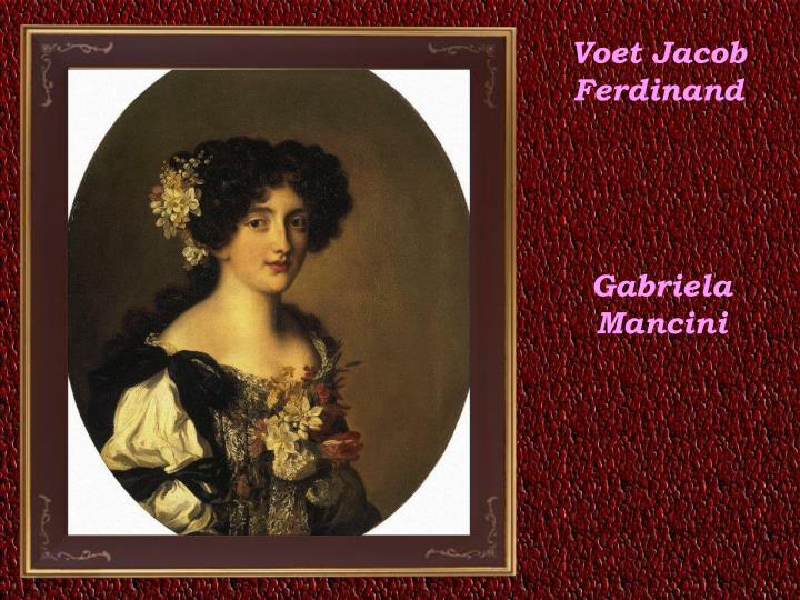 Voet Jacob Ferdinand