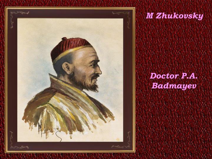 M Zhukovsky