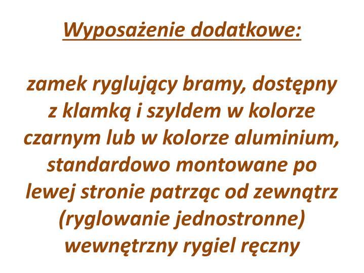 Wyposa