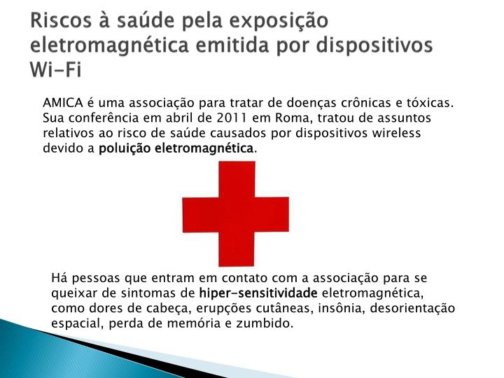 Riscos à saúde pela exposição eletromagnética emitida por dispositivos Wi-Fi