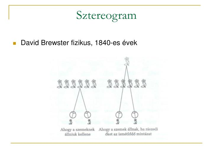 Sztereogram